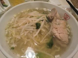 Tom's製麺 鶏肉湯麺�@