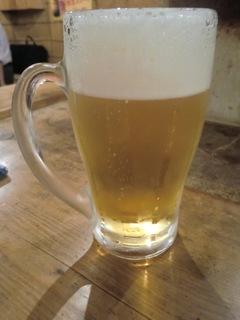 蒲田鈴正 生ビール