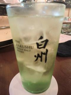 塩ホルモン好ちゃん神田本店 白州ハイボール