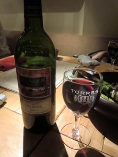 表参道ワイン食堂Den 赤ワイン