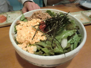 はし田屋 野菜サラダ