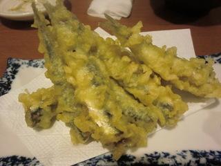 魚喜 小いわしの天ぷら