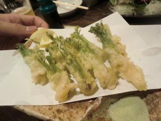 北海 山菜の天ぷら