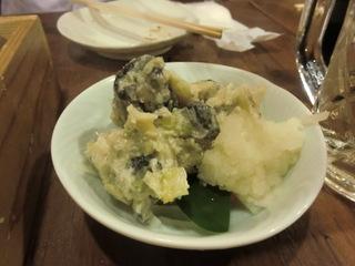 魚箱 つぶ貝のわさび漬け.JPG