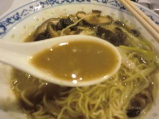 揚州商人 椎茸の黄金スープ麺�B
