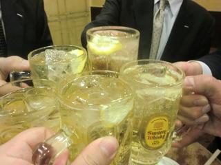 たきおか 乾杯