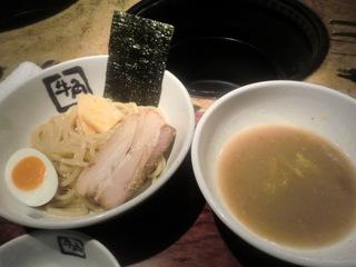 牛角大井町店 鶏塩ゆずつけ麺
