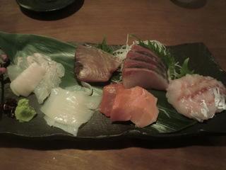 和食KUWA 刺身の盛り合わせ