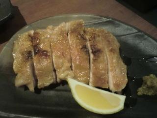 和食KUWA 鶏もも一枚焼き