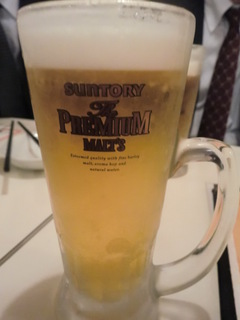 Tom's製麺 生ビール