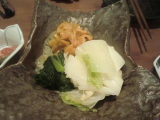 和食KUWA おしんこの盛り合わせ