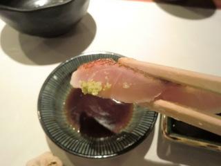 松輪 金目鯛の刺身