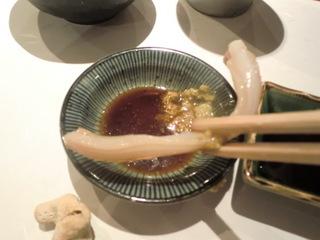 松輪 みる貝の刺身