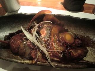 松輪 金目鯛の煮付け