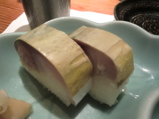 松輪 サバ寿司