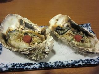 魚喜 焼き牡蠣