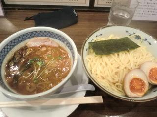 麺屋 楼蘭 焦がし味噌つけ麺�@