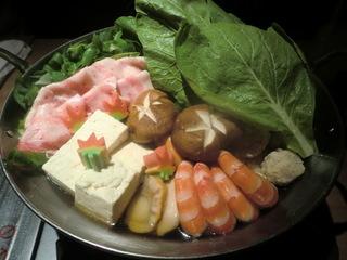 DEN 旬の京野菜たっぷりの寄せ鍋�@
