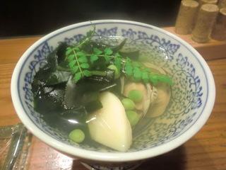 海風土屋 通 ハマグリとタケノコの煮物