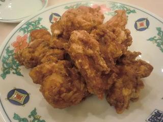 中華菜館五福 から揚げ