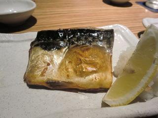 侍 塩サバの炙り