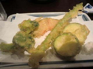 夏目家 夏野菜の天ぷら