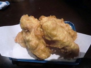 夏目家 鶏肉の梅肉揚げ