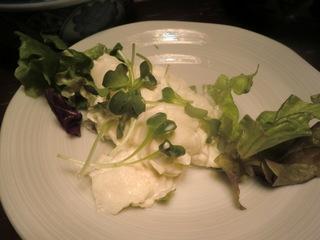黒船屋 大根と貝柱のサラダ