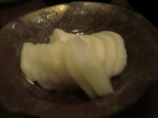 舟武 山芋のわさび漬け