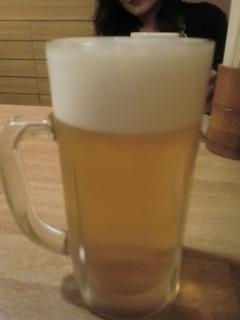 鳥樹本店 生ビール