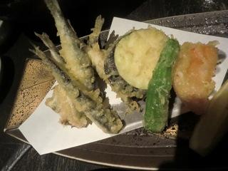 魚菜家 小いわしの天ぷら