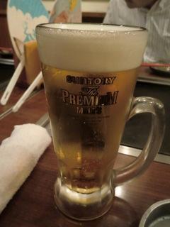 ラッキー工場 赤坂見附店 プレミアムモルツ